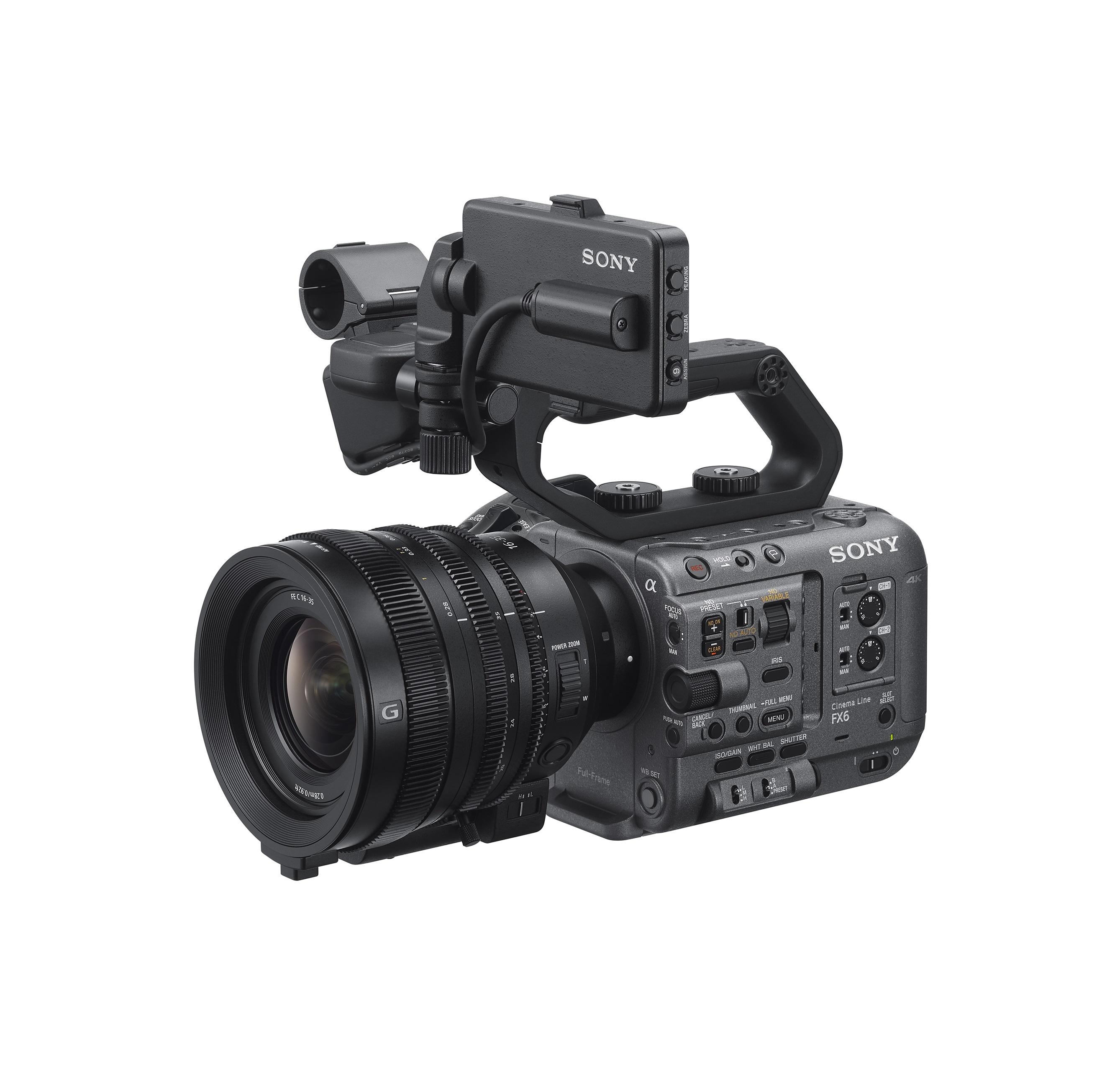 ILME-FX6-3-quarter-View-with-Cinema-lens-SELC1635G