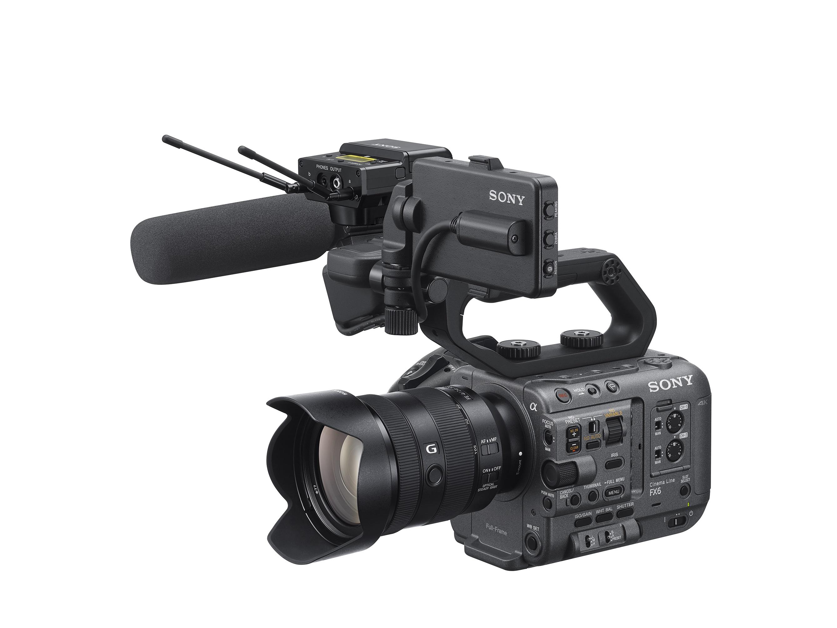 ILME-FX6-3-quarter-View-with-Kit-lens-SEL24105G-URX-P40-SMAD-P5-and-ECM-Microphone