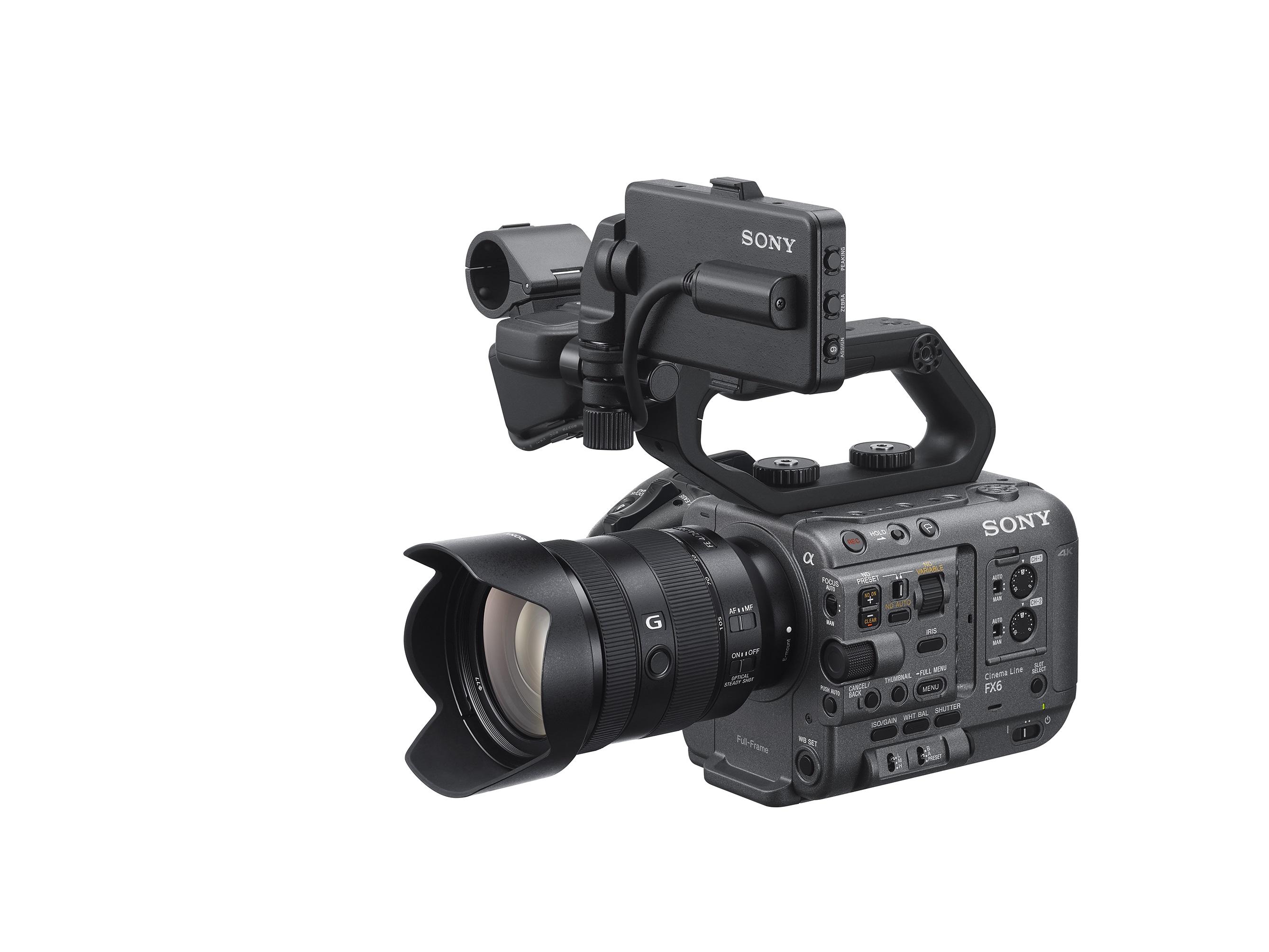 ILME-FX6-3-quarter-View-with-Kit-lens-SEL24105G