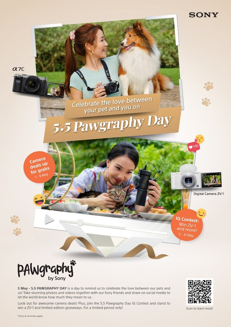 5.5 Pawgraphy day – A Day to Celebrate the Love Between Our Pets and Us