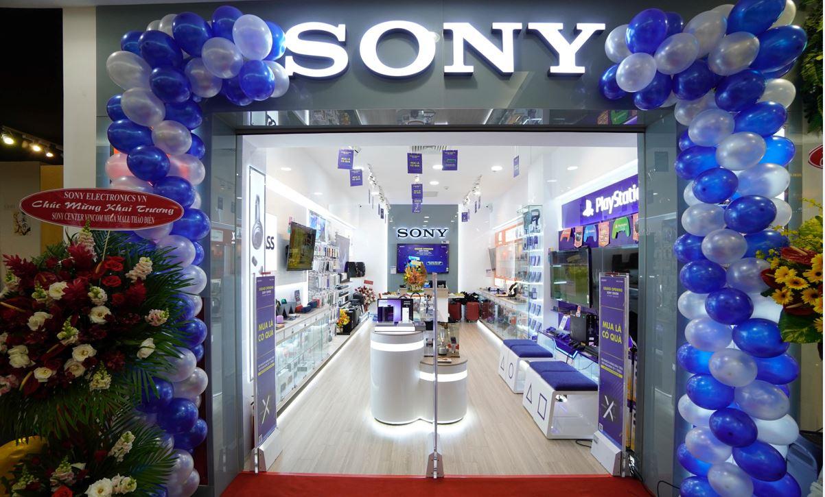 Khai trương Sony Center Vincom Mega Mall