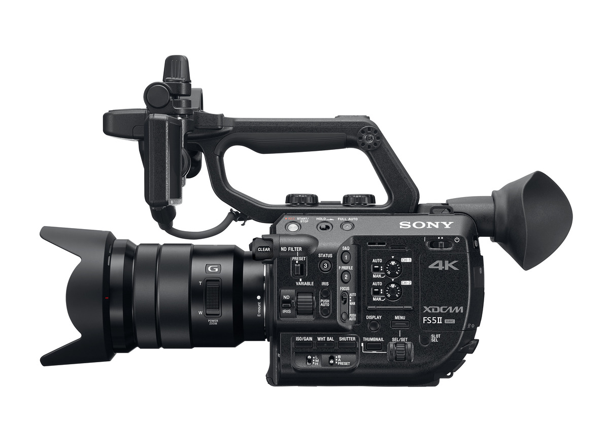 Sony Introduces FS5 II with 4K HDR, 120fps RAW and New Color Science
