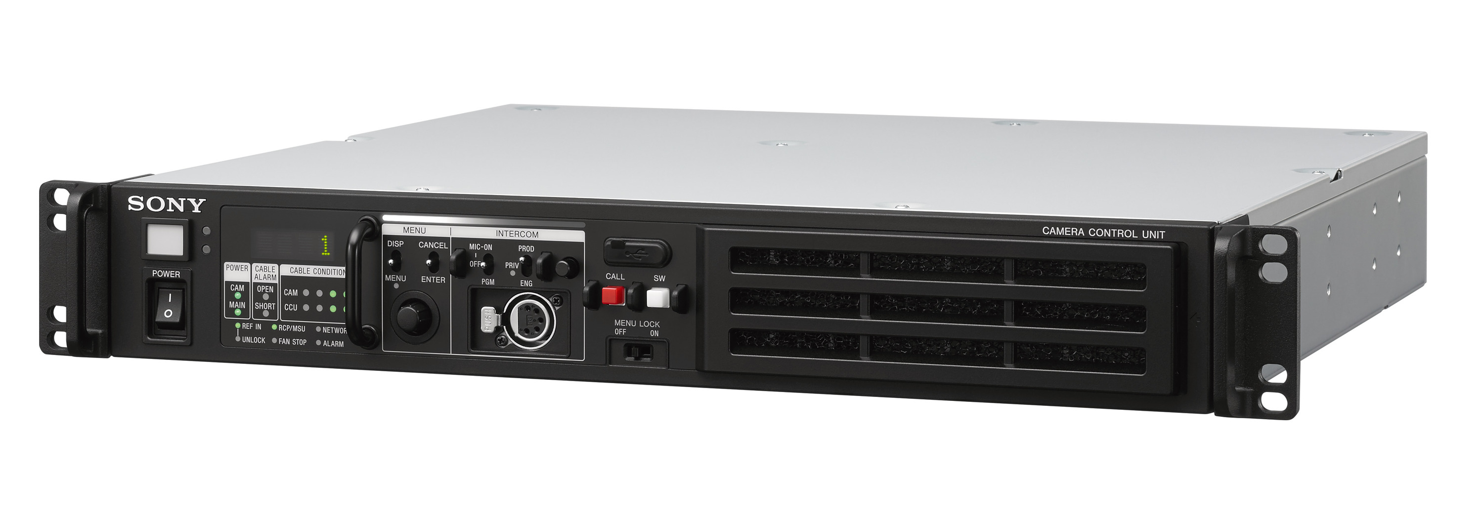 Sony adds to its IP Live Production ecosystem with the new HDCU-3100 camera control unit, providing SMPTE ST 2110 and full IP-based interface