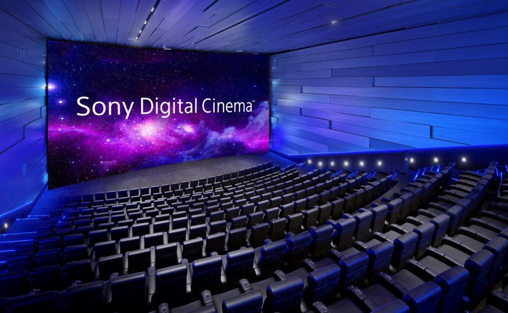 Sony Digital Cinema Auditorium