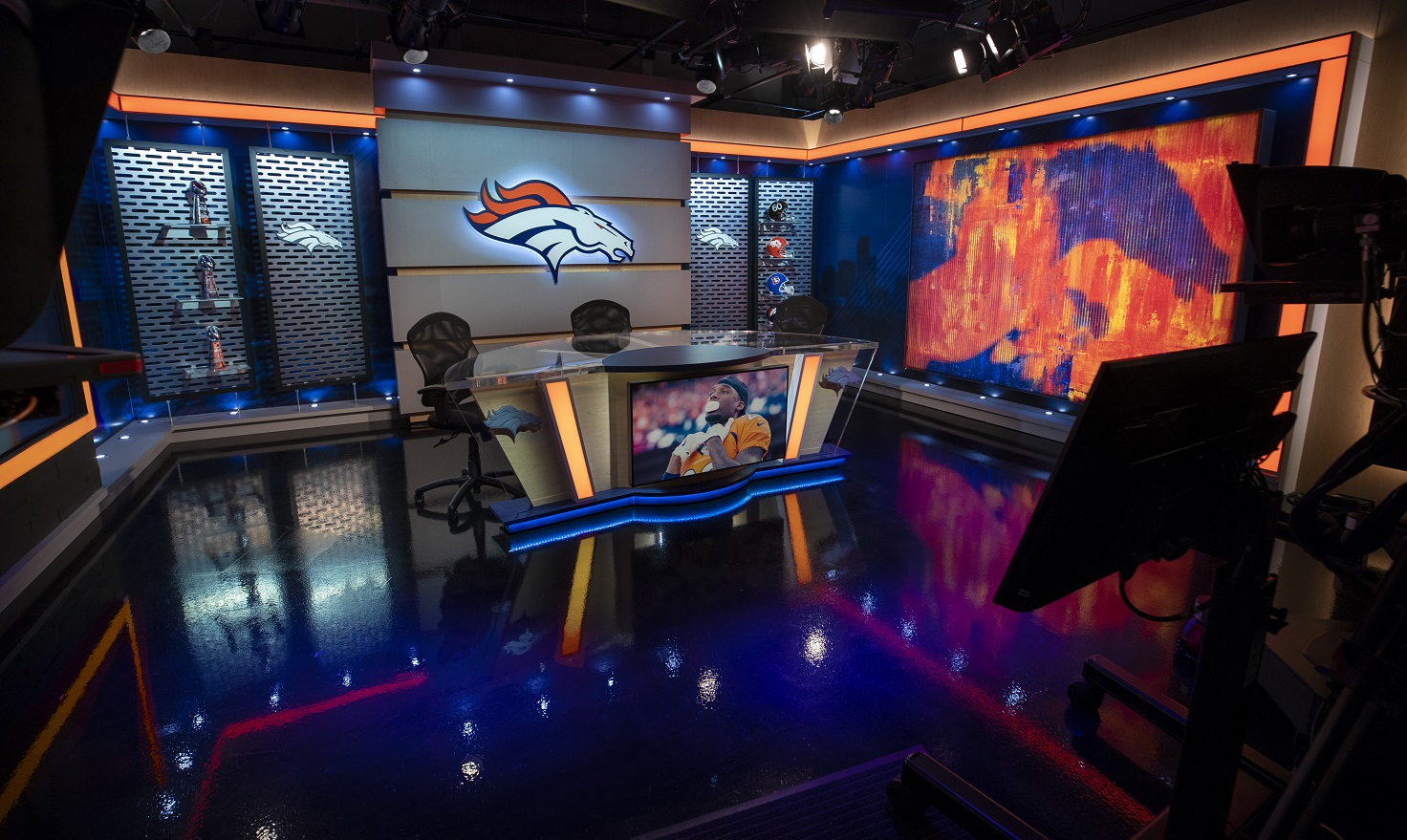 Denver Broncos Production Team Selects Sony Cameras to Capture Pristine Images from New Set for Broadcast and Online Programming