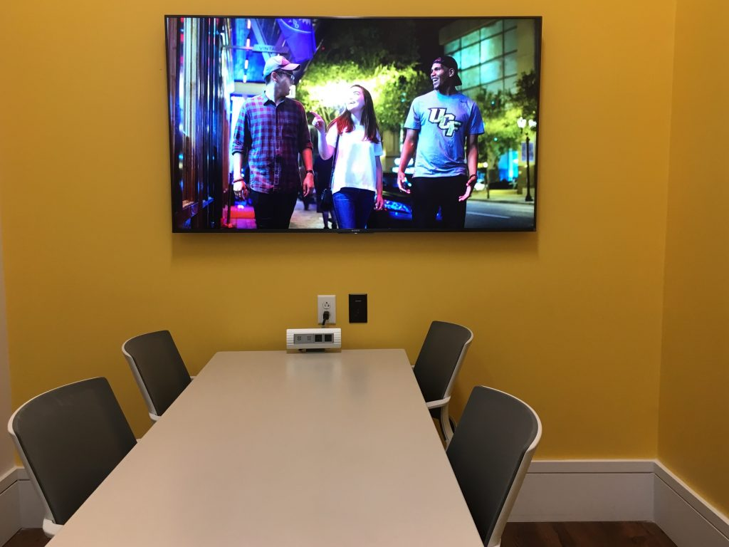UCF uses Sony's BRAVIA professional displays