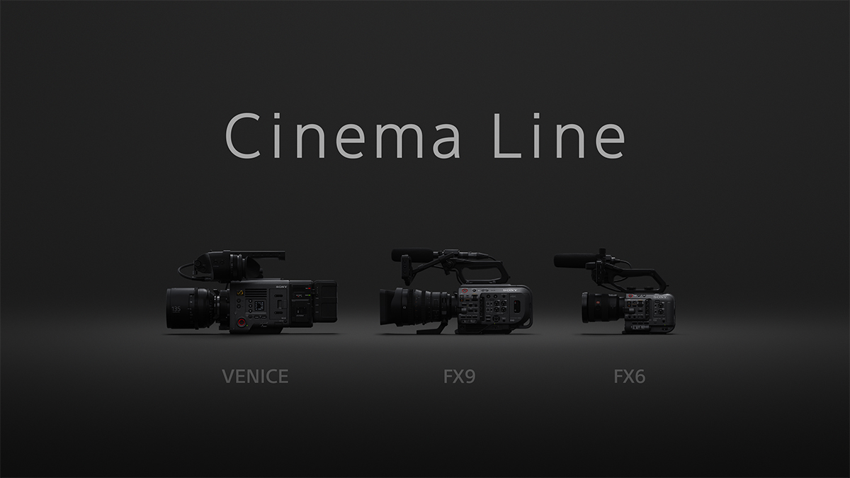 Introducing Sony Cinema Line: Expanding the Camera Line-up for Content Creators with the Technology Cultivated for Digital Cinema Production