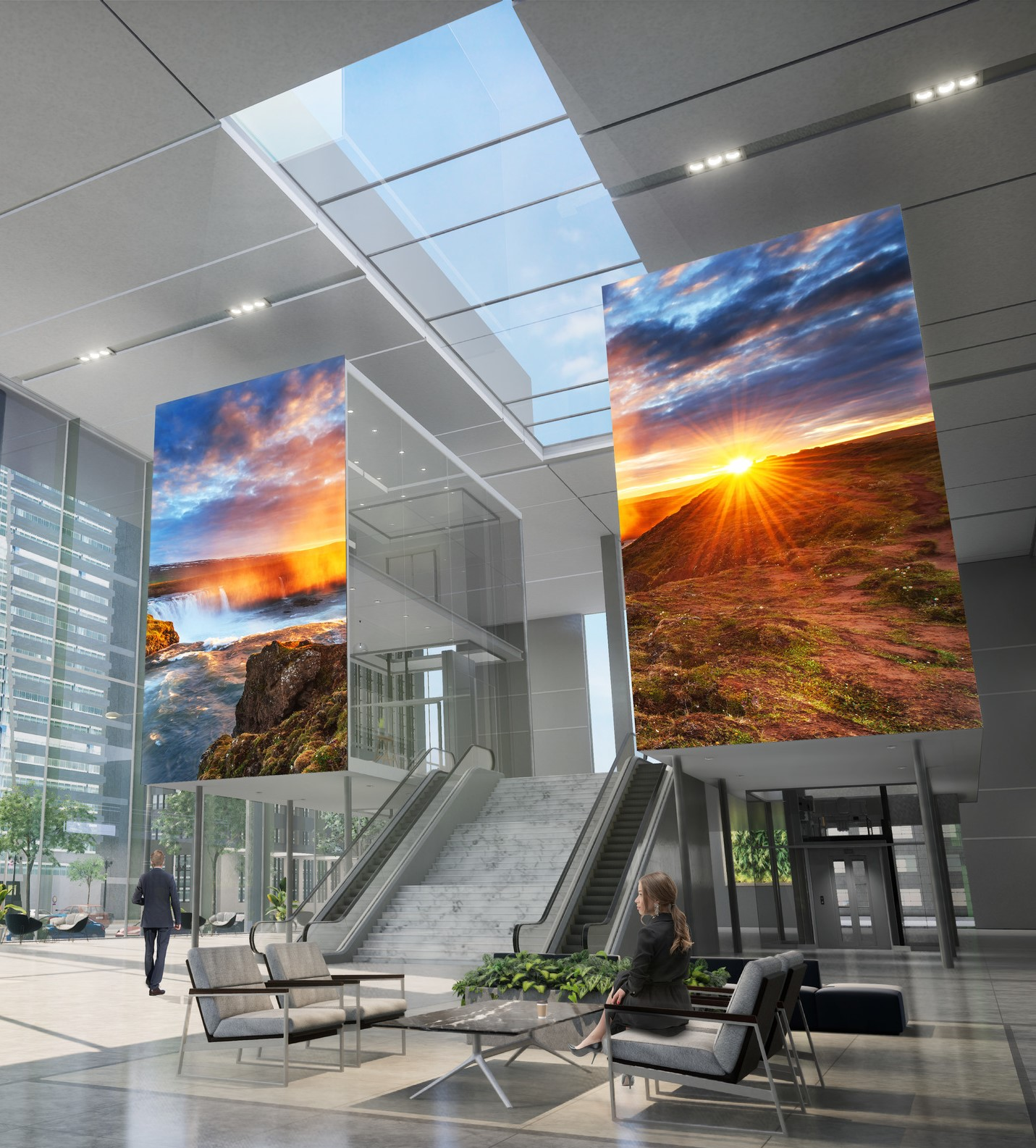 "Sony Introduces Two New ""Crystal LED"" Modular Direct View Display Systems"