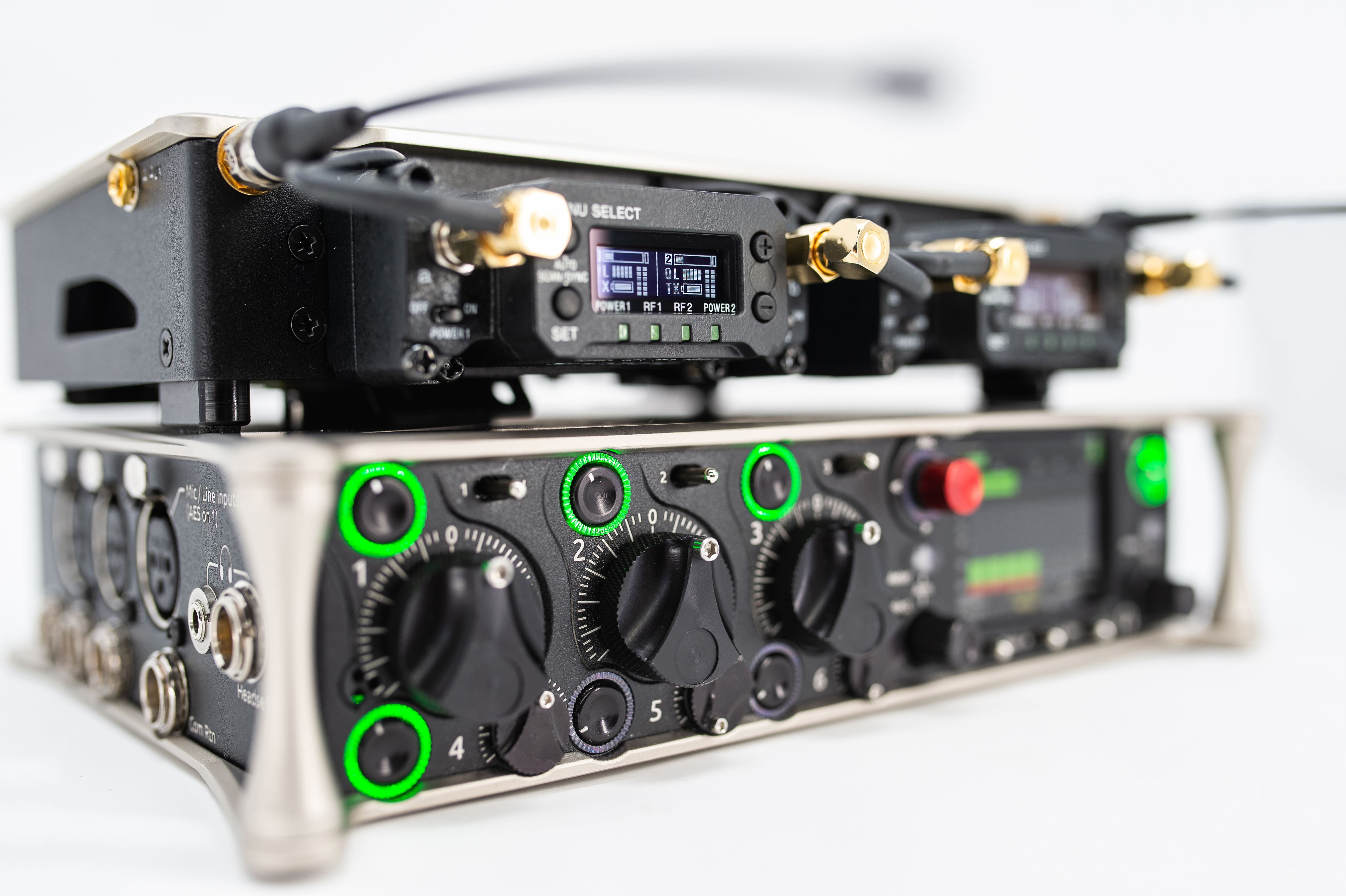 New Firmware Upgrade to Sony DWX Wireless Audio Series Provides New Possibilities for On Location Sound Recording