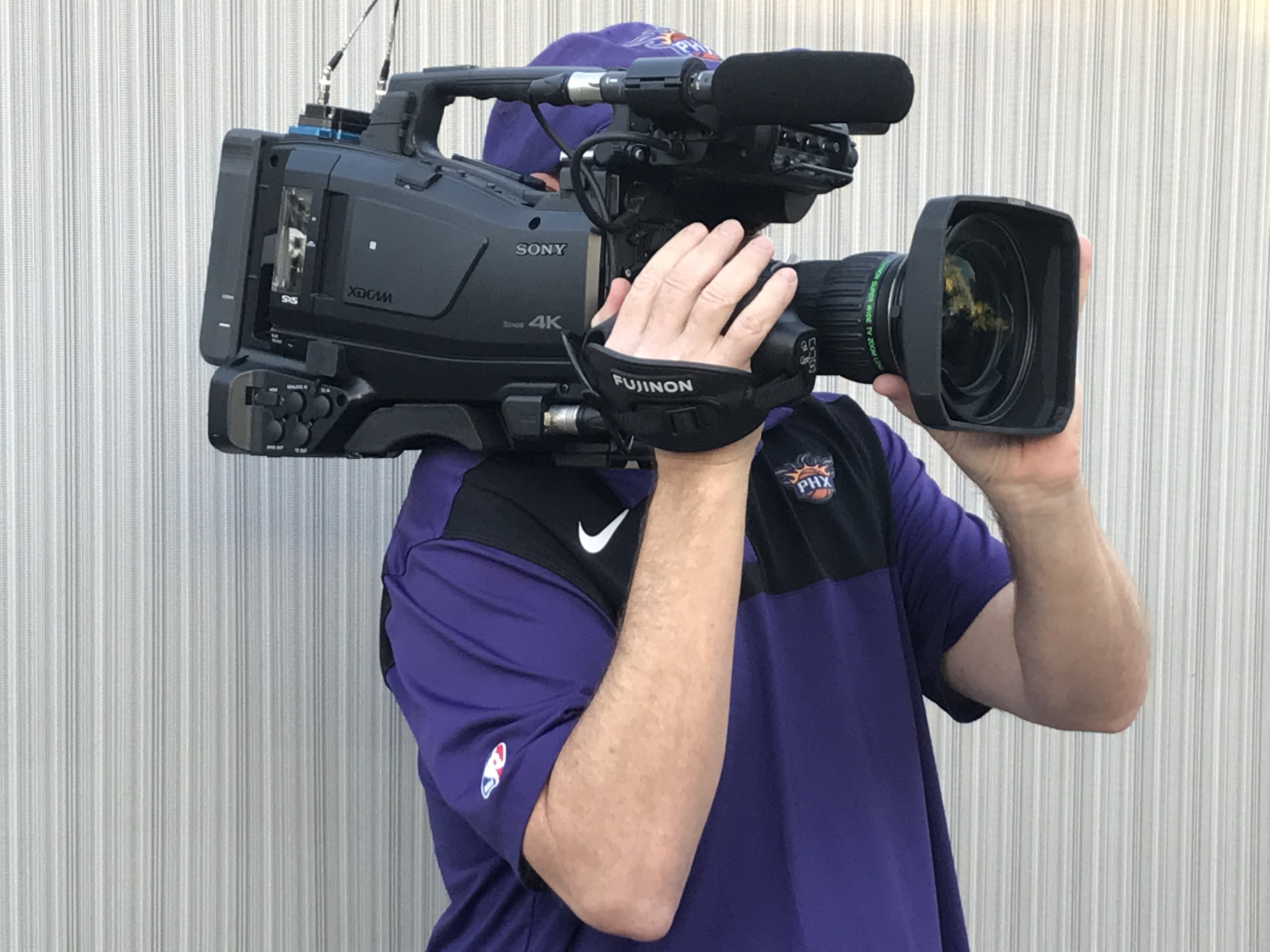 Sony's PXW-Z750 Camera Shines for the Phoenix Suns