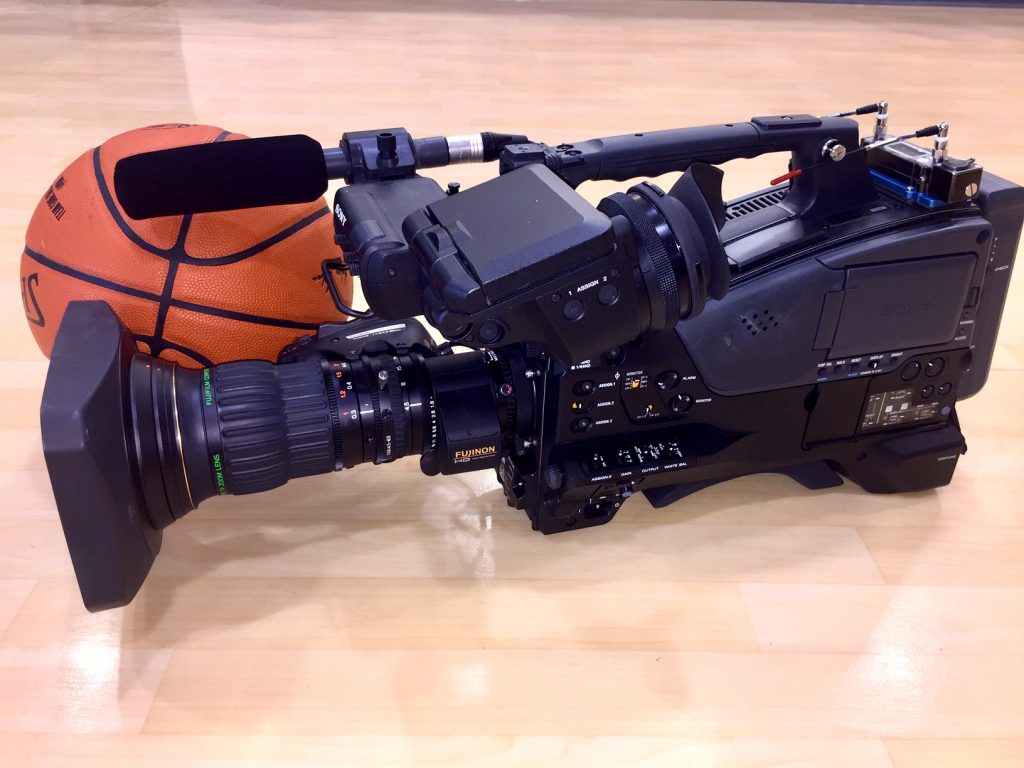 sony pxw-z750 basketball court