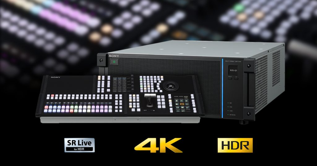 xvs-g1 compact entry level switcher