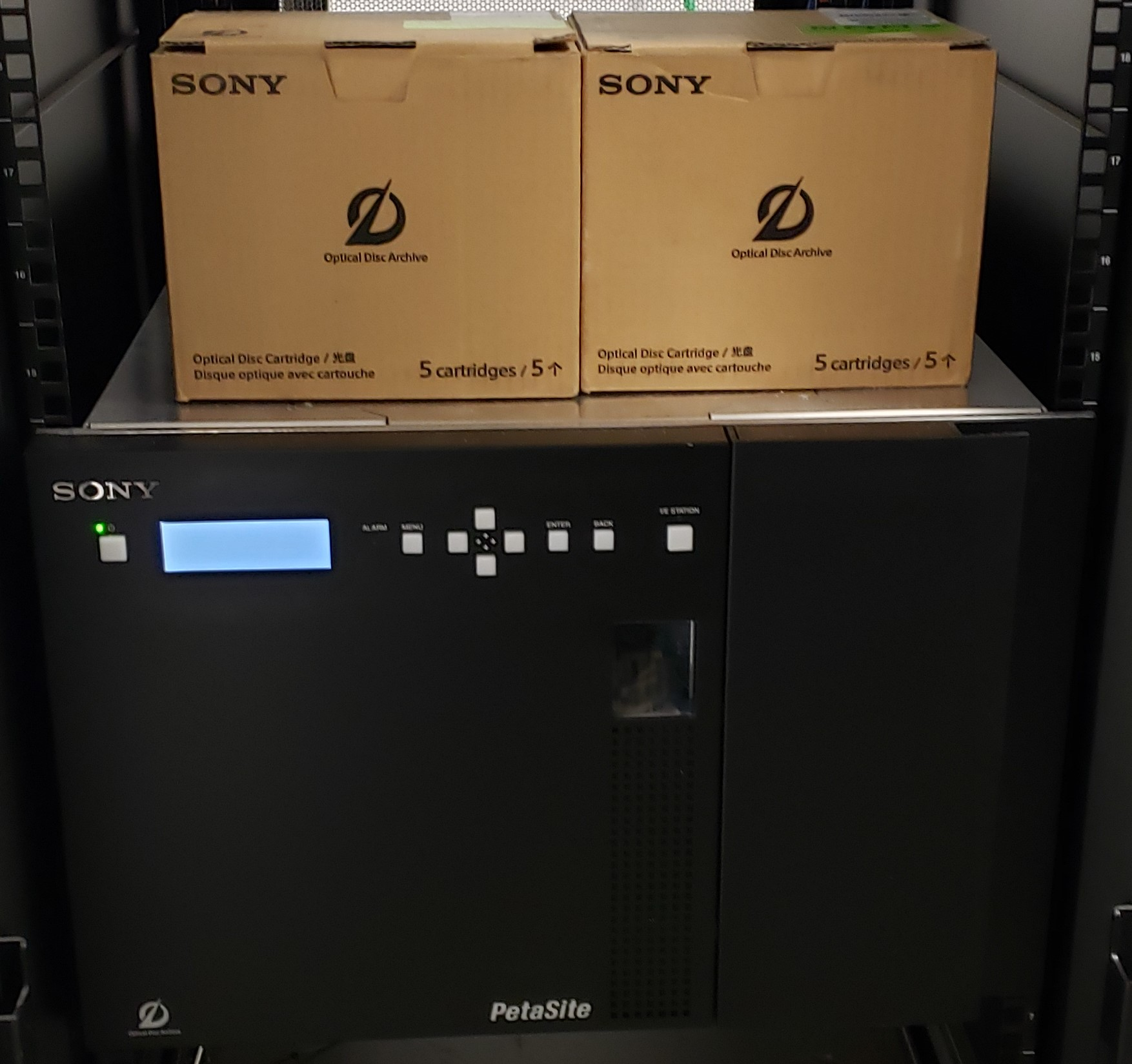 Sony's Optical Disc Archive Easily Stores and Secures Montclair State University's Most Important Content