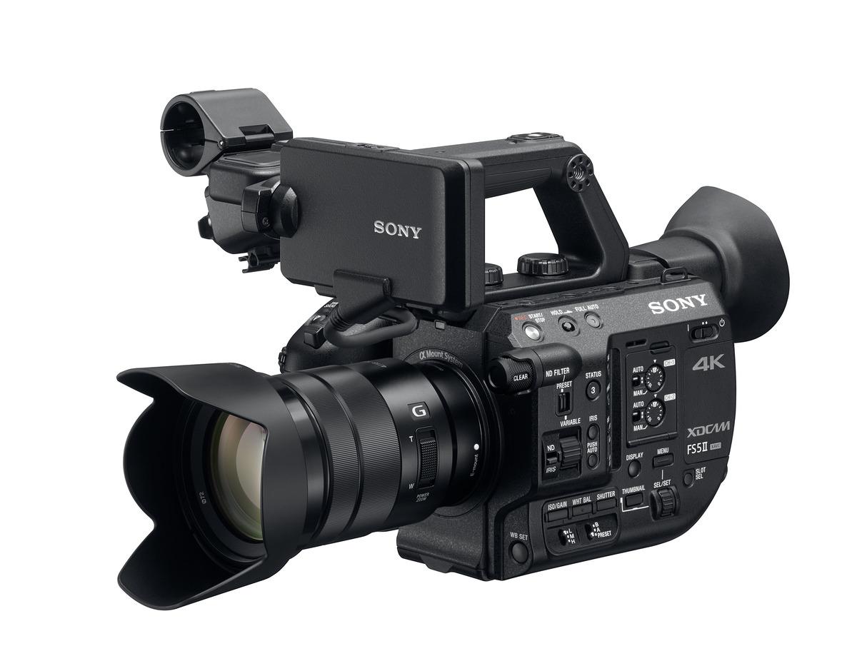 Новый камкордер Sony FS5 II открывает безграничные творческие перспективы