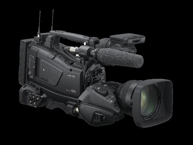 """Sony apresenta o novo modelo de sua linha XDCAM, a camcorder de ombro PXW-Z750, com sistema de três sensores CMOS de 2/3"""" com Global Shutter"""