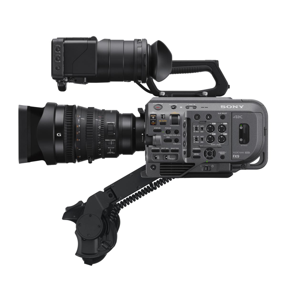 소니, 새롭게 개발한 6K 풀프레임 센서를 탑재한 새로운 플래그십 캠코더 'FX9' 공개