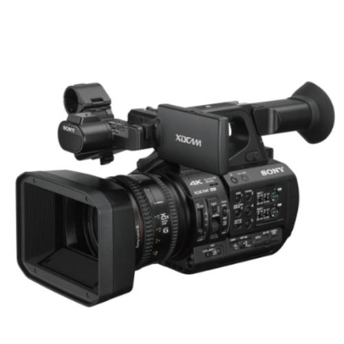 """A videocâmera PXW-Z280 da Sony, a primeira câmera 4K de 3 chips do mundo com sensores CMOS Exmor R de1/2"""", redefine a qualidade de imagem e o fluxo de trabalho das produçõescom câmera na mão."""
