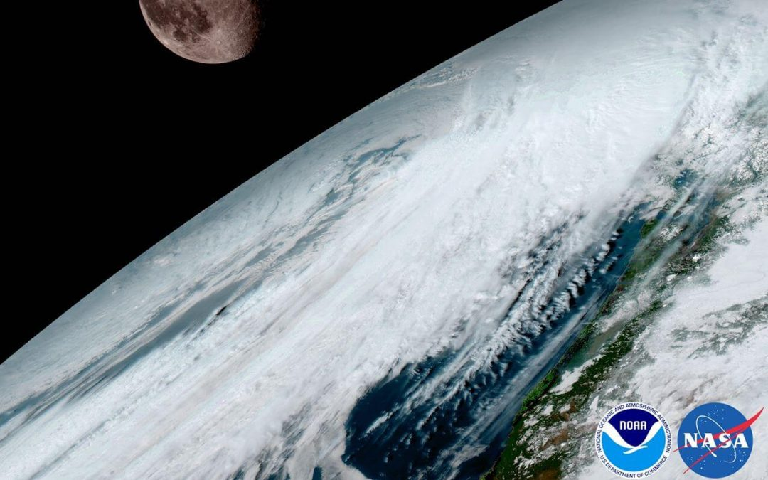 Top 6 GOES-16 Satellite Images of 2017