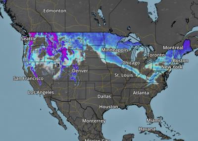 Praedictix Weather Graphics - National Snow Depth
