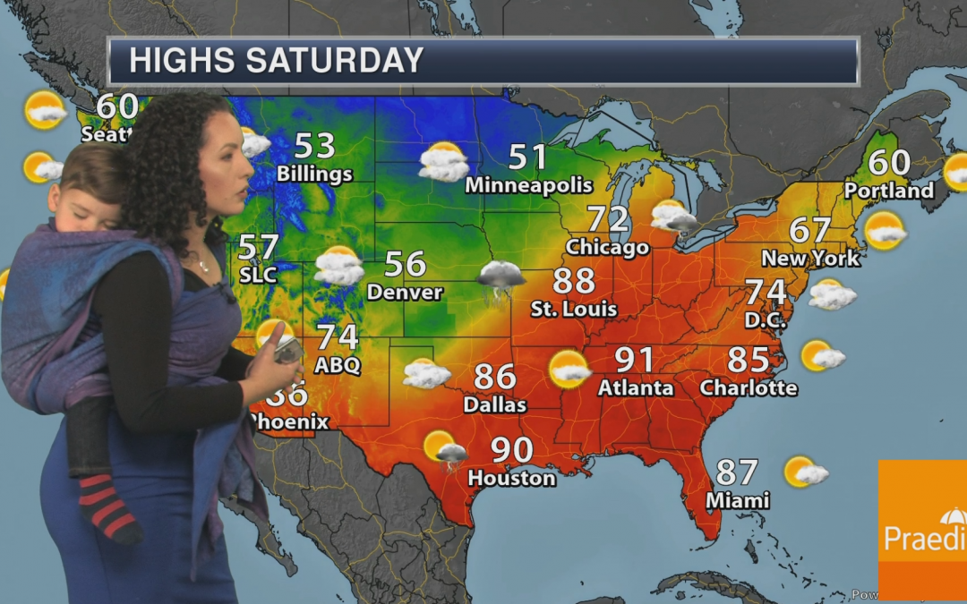 Q&A with Babywearing Meteorologist Susie Martin