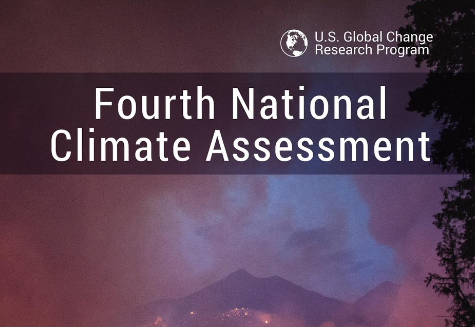 Fourth National Climate Assessment on impacts of climate change