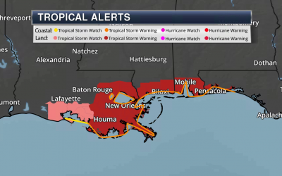 Tropical Storm Warnings Ahead Of Cristobal – National Weather Outlook For Saturday, June 6, 2020