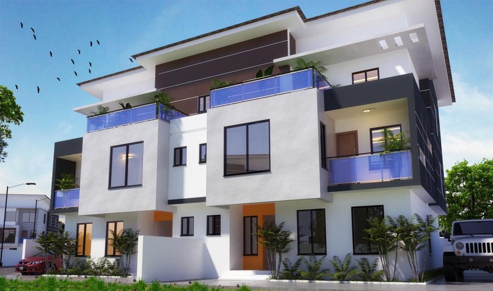 Luxe Berry - 4 bedroom semi detached duplex