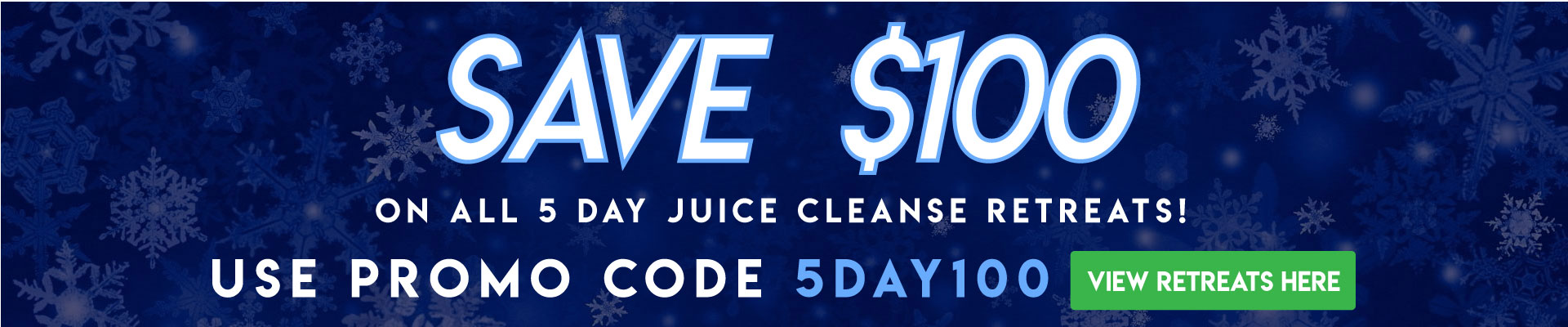 Save 100 on 5 day juice cleanse