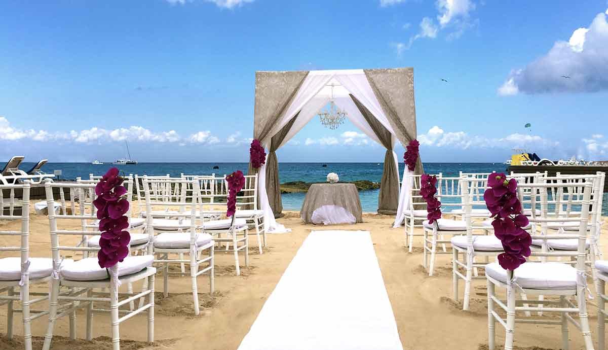 Cozumel mexico wedding packages mini bridal for Mexico wedding packages