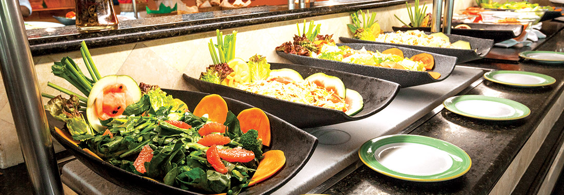 Royal Holiday - Buffet or menu? - Enjoy both with the Park Royal All Inclusive plan.