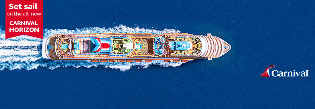 Royal Holiday - Discover how inspiring a cruise trip can be - on board of a Carnival!