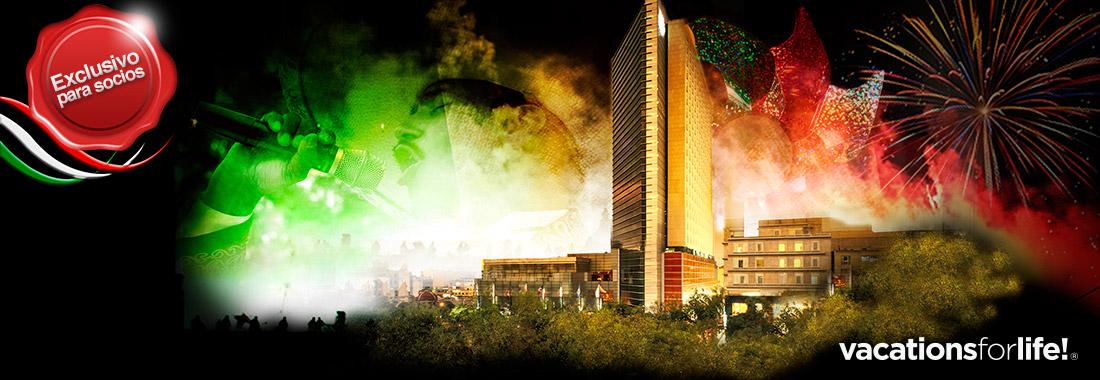 Royal Holiday - ¡Ven a dar El Grito con nosotros! - Cena baile y 2 noches en el Hilton Mexico City Reforma