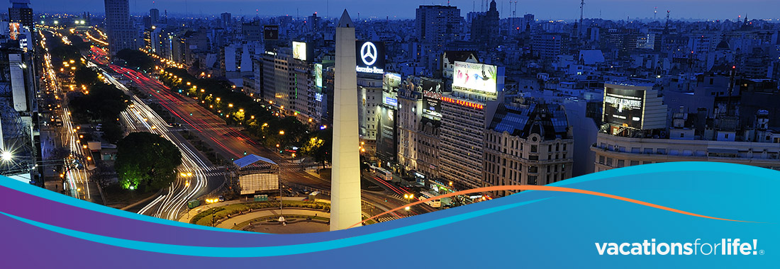 Royal Holiday - Park Royal Buenos Aires 3 nights for 1,725 HC - Fall special promotion for a limited time only. Reserve now!