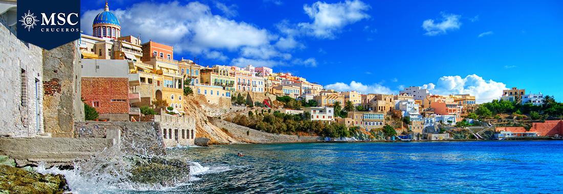 Royal Holiday - Pasea por el Mediterráneo en un crucero MSC - Y descubre su sabores a bordo de un espectacular barco