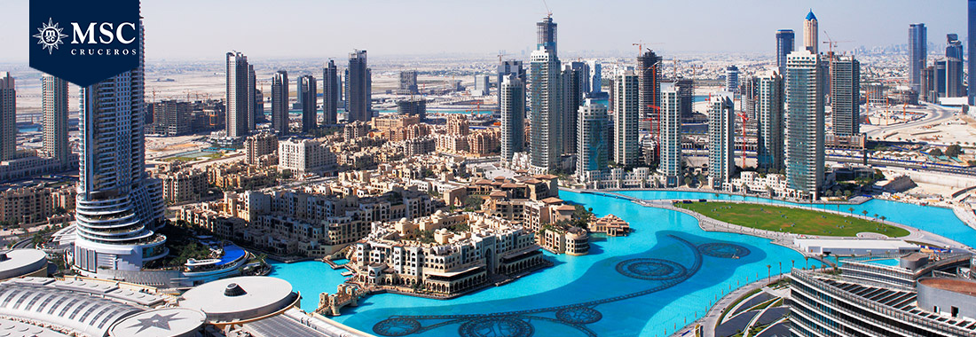 Royal Holiday - Explora los Emiratos Árabes en un crucero MSC - Y admira una región llena de historia, opulencia y modernidad
