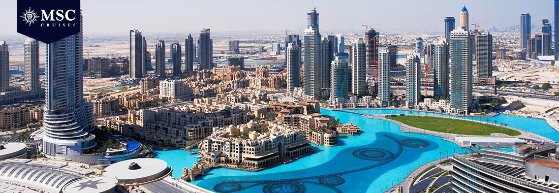 Royal Holiday - Explore os Emiratos Árabes em um cruzeiro MSC - E admire essa região cheia de história, opulência e modernidade