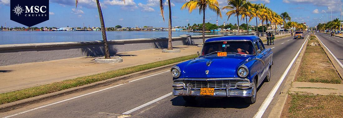 Royal Holiday - Todo o sabor de Cuba em um cruzeiro MSC - Caminhe por suas praias e cidades ao ritmo de um som cubano.