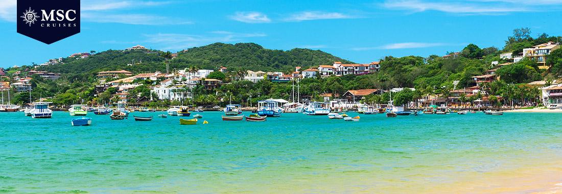 Royal Holiday - Conheça  os destinos mais belos da América do Sul. - A bordo de um Cruzeiro MSC, conforto e diversão garantidos