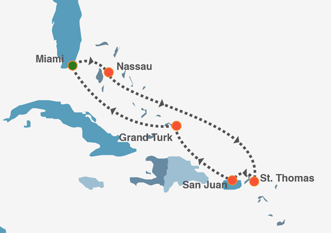 Royal Holiday USA Canada Bahamas  Reserve Now