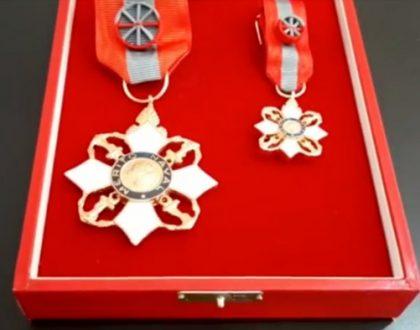 Prático da PSF condecorado com a Ordem do Mérito Naval.