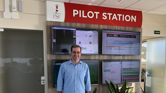 Visita do deputado Chiodini à Praticagem São Francisco