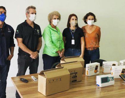 Equipamentos hospitalares doados à Secretaria de Saúde