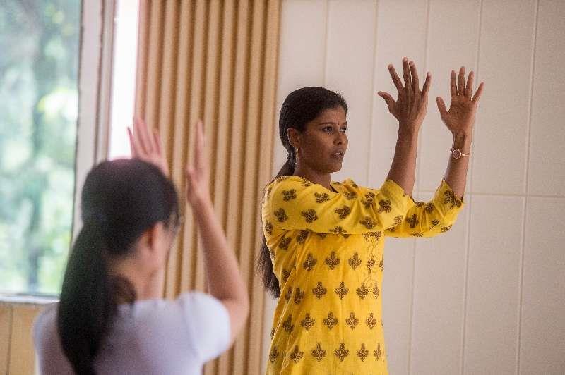 Chinese Dream, My Dream Indian yoga teacher fulfills dream in wonderland