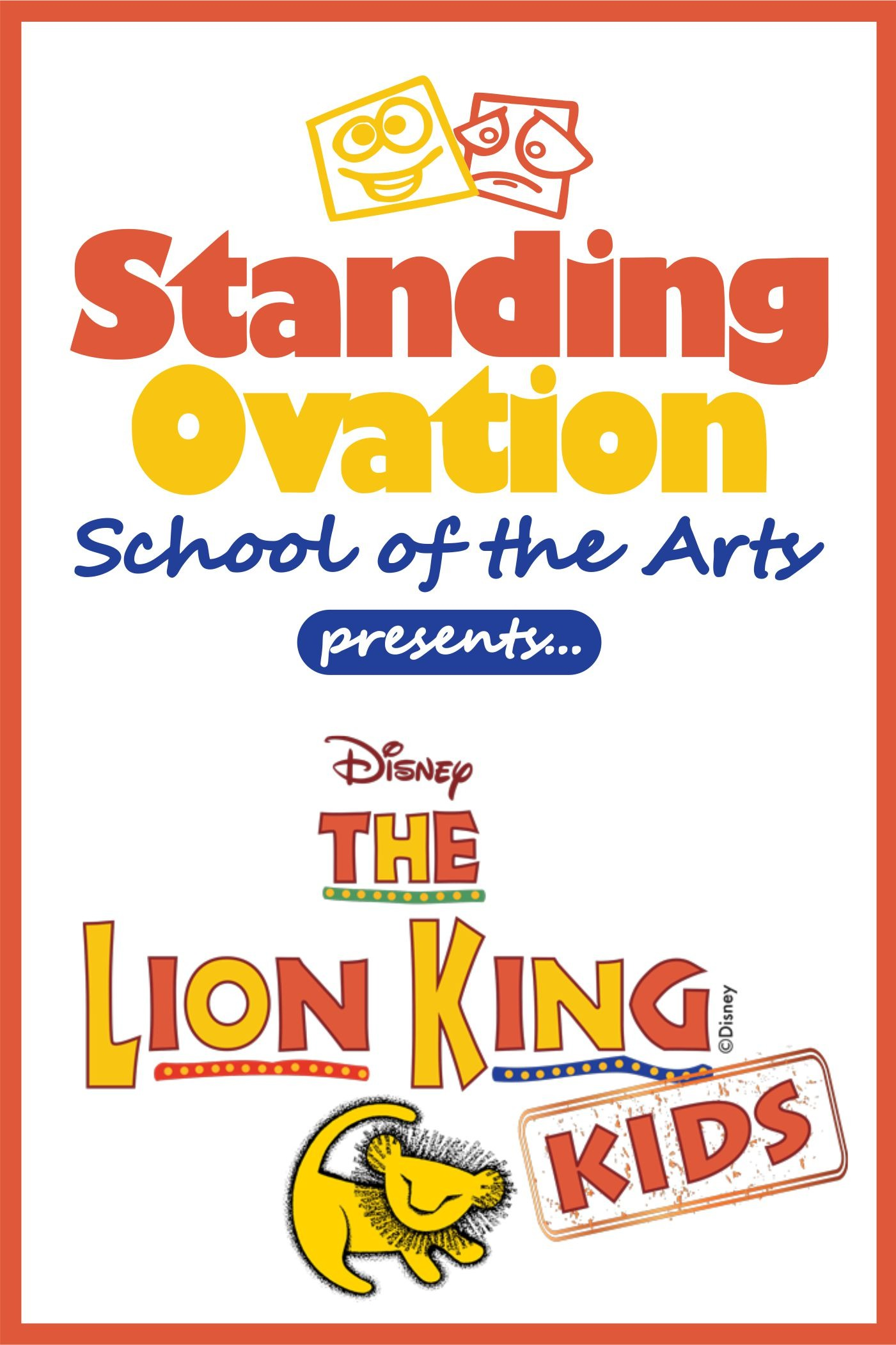 Standing Ovation School Of The Arts Presents Disneys The
