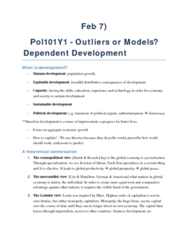 outliers-or-models-dependent-development
