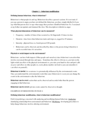 behaviour-modification-chapter-one-detailed-notes