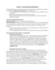 behaviour-modification-chapter-two-detailed-notes