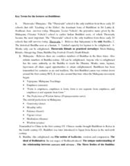 key-terms-on-buddhism