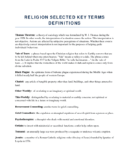 religion-selected-key-terms-definitions-from-lectures-for-final