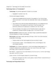 soca02-textbook-notes-for-chapter-22-technology-and-the-global-environment